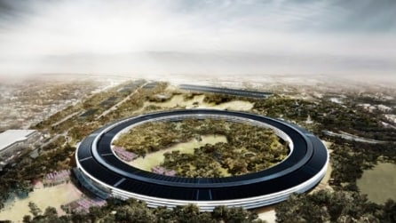 All'interno del nuovo Campus Apple