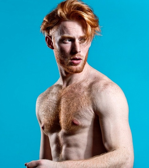 Rosso e sexy, gli uomini più sensuali dai capelli rossi