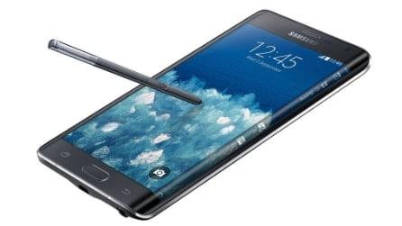 Samsung Galaxy Note Edge: le prime immagini ufficiali