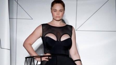 Modelle con la cellulite e le smagliature sulle passerelle di New York