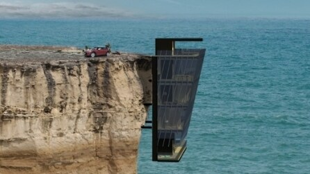 Australia, la suggestiva casa ancorata alla scogliera