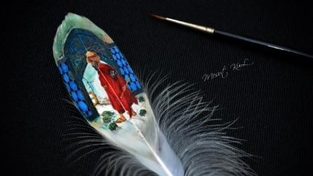 L'arte in miniatura di Mesut Kul