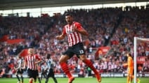 Southampton-Newcastle 4-0, doppietta di Pellè