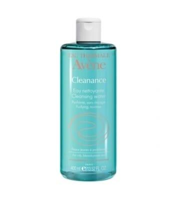 Elimina impurità e make up, ha una funzione seboregolatrice e il bromuro di cetrimonio purifica la pelle, mentre l'acqua termale lenisce.