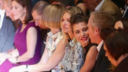 Kate Moss e Charlotte Casiraghi, regine di stile a Milano