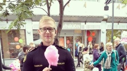Reykjavik, la polizia islandese è la più dolce e buona del mondo
