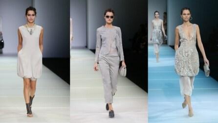 Giorgio Armani, la collezione Primavera/Estate 2015