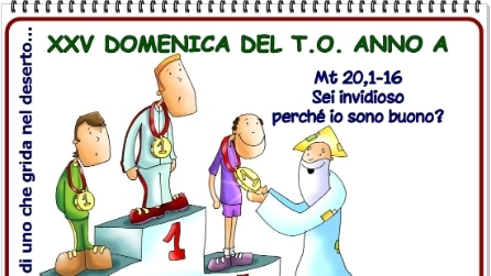 XXV DOMENICA DEL TEMPO ORDINARIO - ANNO A