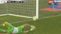Atalanta-Fiorentina, gran tiro di Kurtic per il vantaggio viola