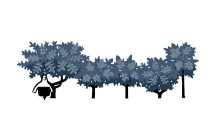Google Doodle per l'equinozio d'autunno