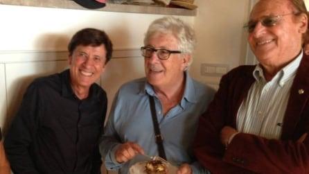 Al compleanno di Gino Paoli anche Morandi, Arbore, Zucchero e Beppe Grillo