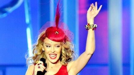 Dolce & Gabbana crea l'abito per il tour di Kylie Minogue