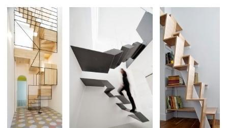 Le 10 scale da interni più incredibili al mondo