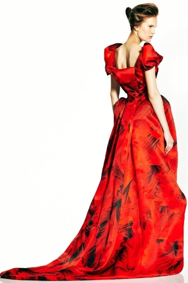 L'abito indossato da Amal per l'addio al nubilato