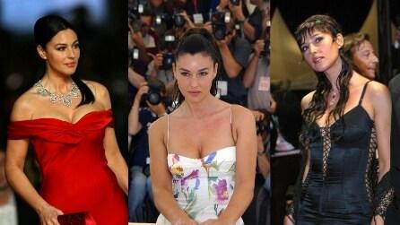 Monica Bellucci: i 50 look più belli e sexy della star