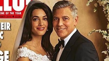 L'abito da sposa di Amal per le nozze con George Clooney