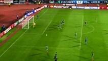 Benzema-gol, Real in vantaggio contro il Ludogorets
