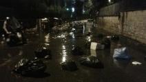 Maltempo, Roma allagata da un violento acquazzone