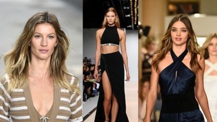 Le 10 top model più sexy sulle passerelle di Parigi