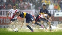 Le immagini di River Plate-Boca Juniors