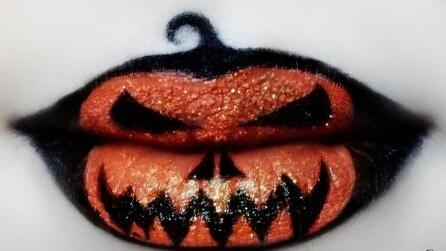 Make up per Halloween: 15 idee per il trucco labbra