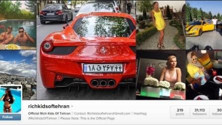 Rolex, Ferrari e discoteche. La bella vita dei giovani dei ''Rich kids of Tehran''