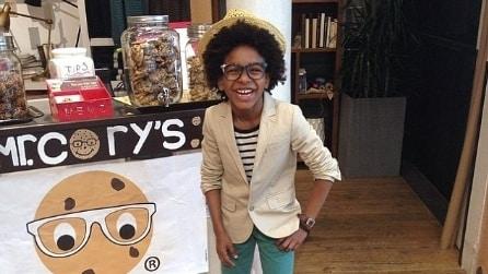 Cory Nieves, il bambino Ceo dei biscotti di Mr. Cory's