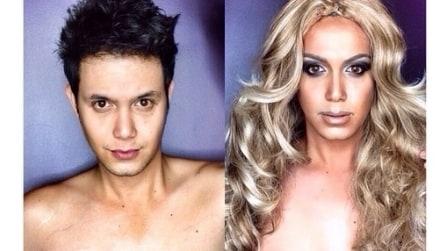 Trasformazioni da star con il make up