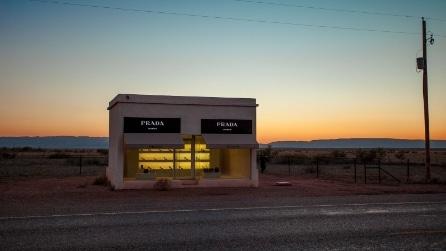 Prada nel deserto... ma non è un negozio
