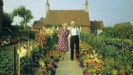 Un ritratto a stagione, l'idea di una coppia di anziani