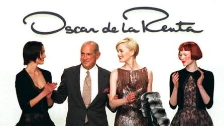 Oscar de la Renta, scomparso lo stilista delle dive