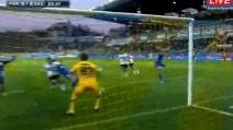 Parma-Sassuolo, ecco il primo gol di Acerbi dopo la malattia