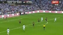 Real-Barça, contropiede micidiale finalizzato da Benzema
