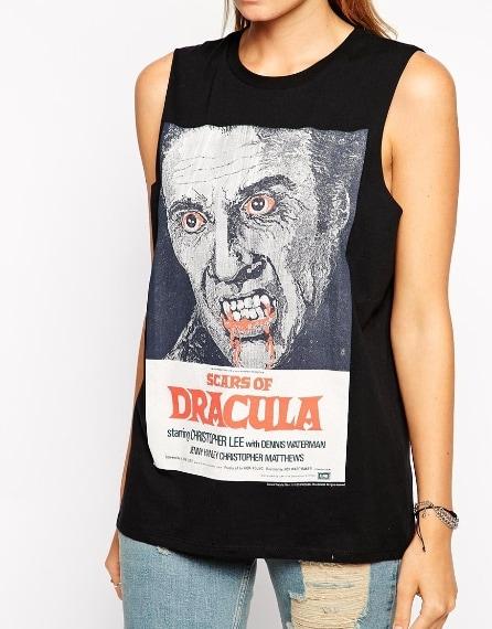 Canotta con stampa di Dracula 28,57 euro