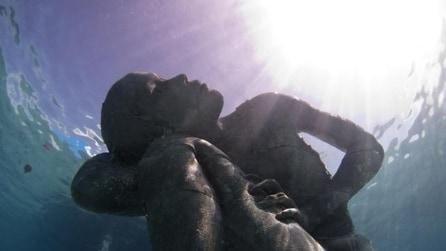 Alle Bahamas la statua subacquea più grande al mondo