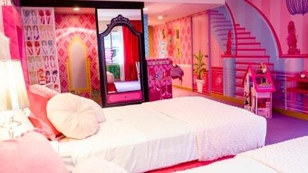 La stanza di Barbie dell'Hilton Hotel di Buenos Aires
