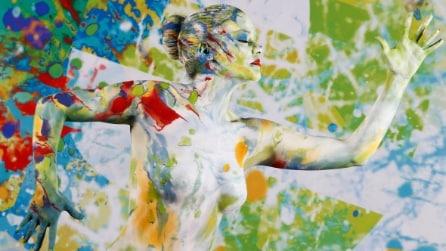 Body painting, il bellissimo servizio fotografico