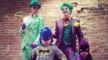 La famiglia che non sbaglia mai travestimento da Halloween