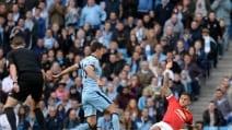 Le immagini di Manchester City-Manchester United 1-0