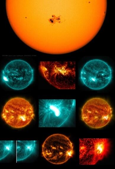 Credit: NASA/SDO/H.Zell
