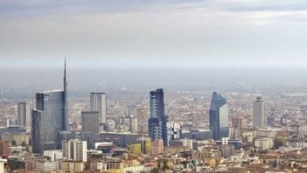 Milano vista dall'alto: ecco gli scatti dalla torre Isozaki