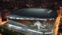 Real Madrid, ecco il 'nuovo' Bernabeu