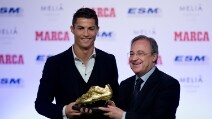 Ronaldo vince la terza Scarpa d'Oro