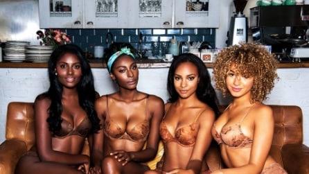 Nubian Skin: l'intimo per le donne di colore