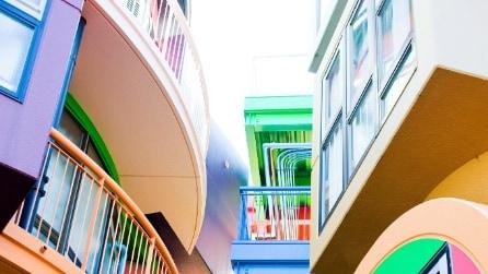 Reversible Destiny Lofts: a Tokyo colori e scomodità