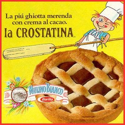 La crostatina è ancora una delle merendine più amate dai bambini, ma la versione anni '80 era leggermente diversa.