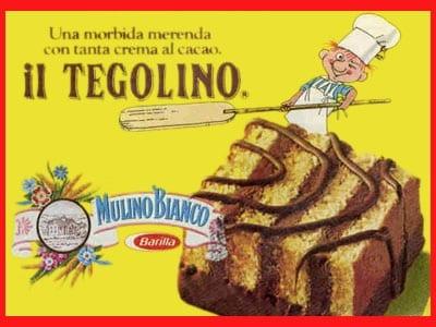 Il tegolino esiste ancora, ma i trentenni di oggi ricorderanno la sua versione originale: più piccola, ma con una quantità di cioccolato illimitata.