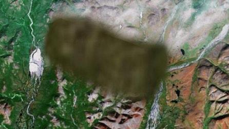 Google Maps, i luoghi misteriosi oscurati da Google
