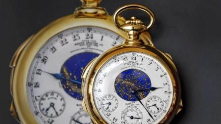 """Asta record: 21 milioni per l'orologio da taschino più """"complicato"""" del mondo"""
