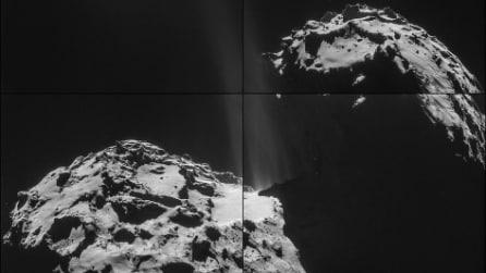 Le fasi della missione Rosetta dalle immagini della Nasa